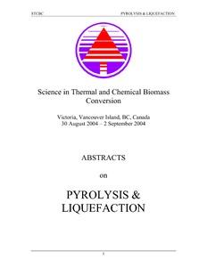 Biodegradability of fast pyrolysis oils - Agritrop