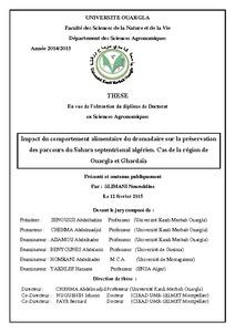 R sultats pour analyse quantitative agritrop for Dujardin dromadaire