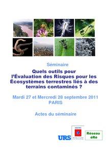 Résultats Pour Sujet T01 Pollution Agritrop